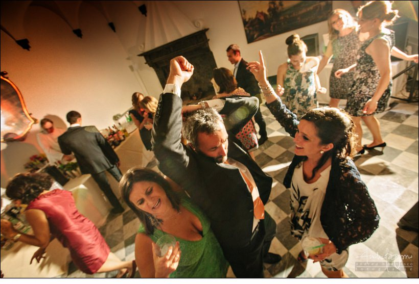 dancing matrimonio palazzo della torre wedding