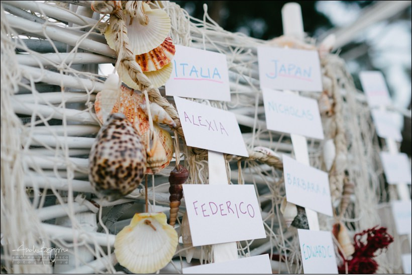 tableau de marriage baba beach wedding alassio