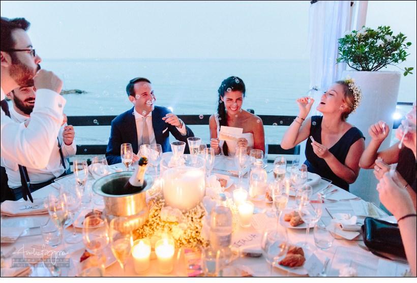 bolle sapone baba beach wedding alassio