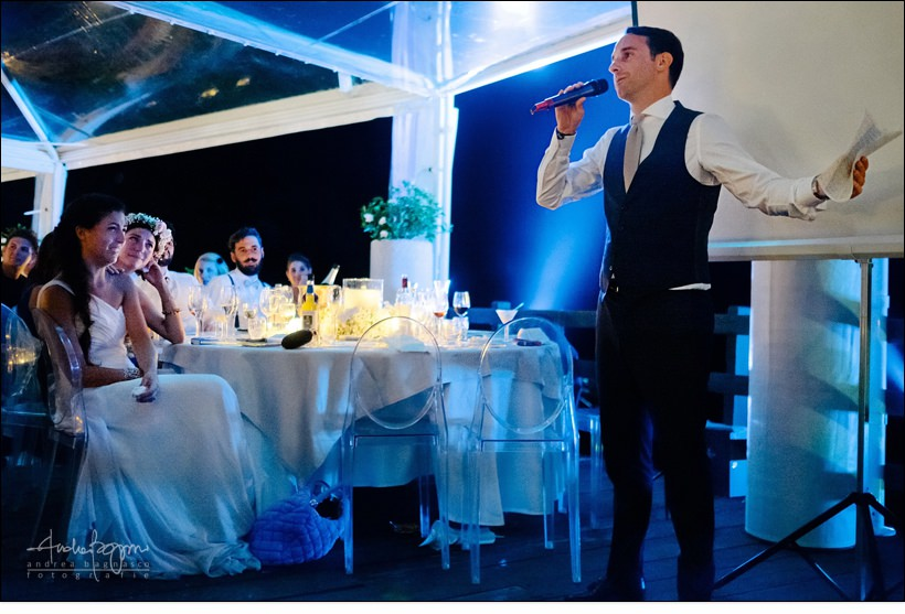 groom speech baba beach wedding alassio