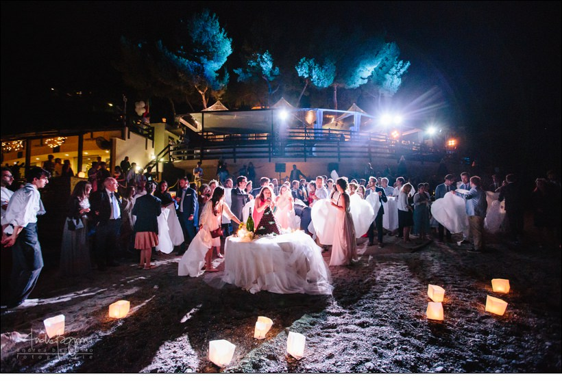 lanterne baba beach wedding alassio