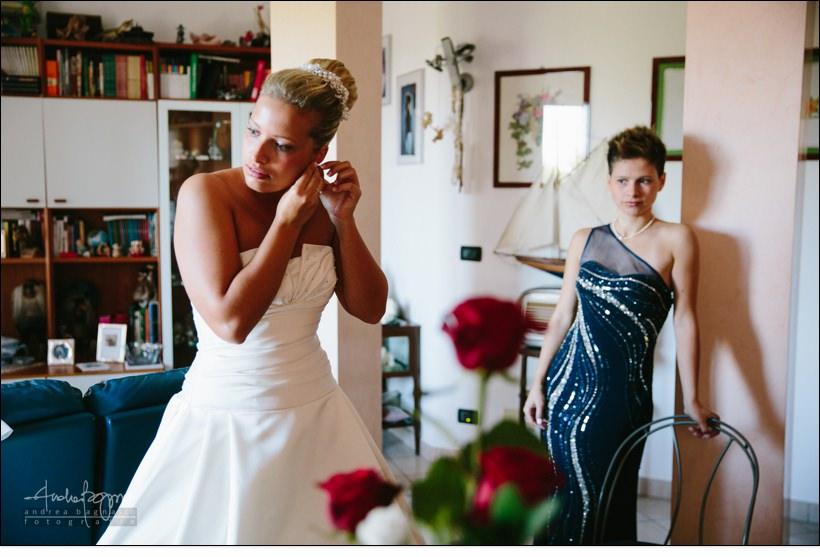 reportage preparazione sposa varazze