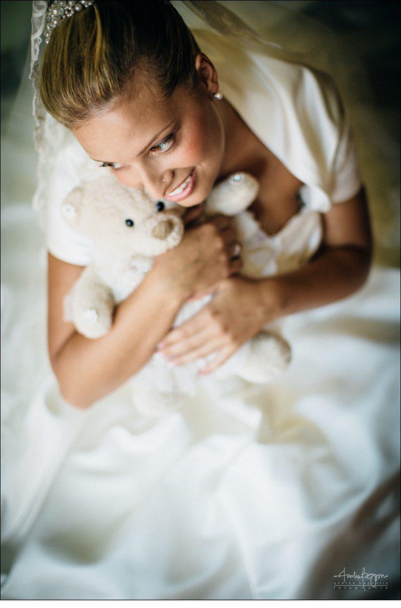 ritratto sposa matrimonio abito pronovias