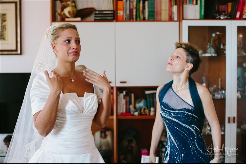 emozioni preparazione sposa varazze
