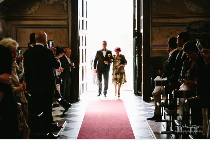 ingresso sposo matrimonio voze
