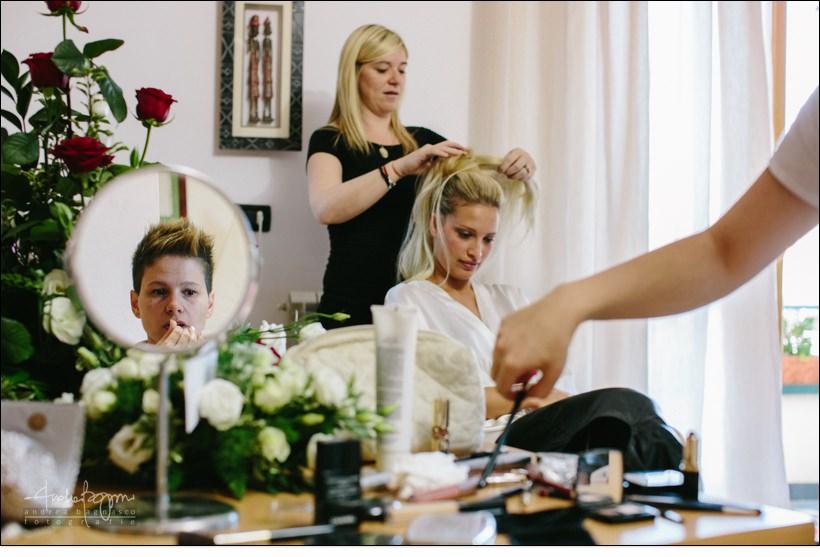 preparazione sposa varazze