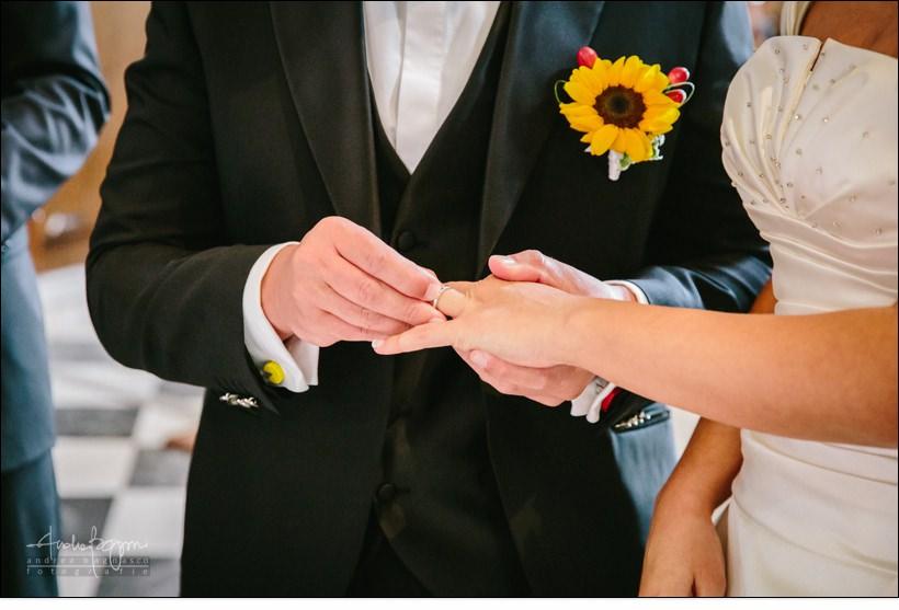 scambio anelli matrimonio voze