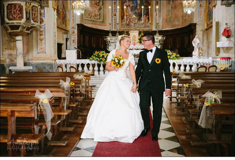 uscita sposi matrimonio voze