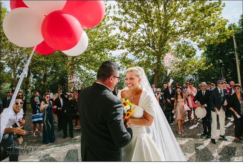 palloncini sposi matrimonio voze