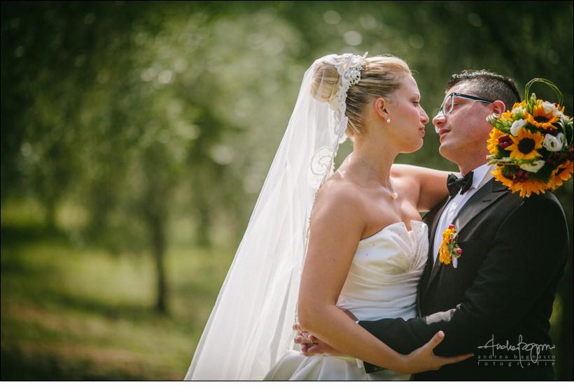 sposi matrimonio uliveto olivi