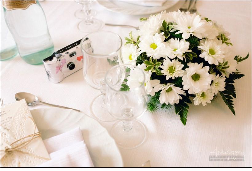 centro tavola matrimonio paradiso manu noi