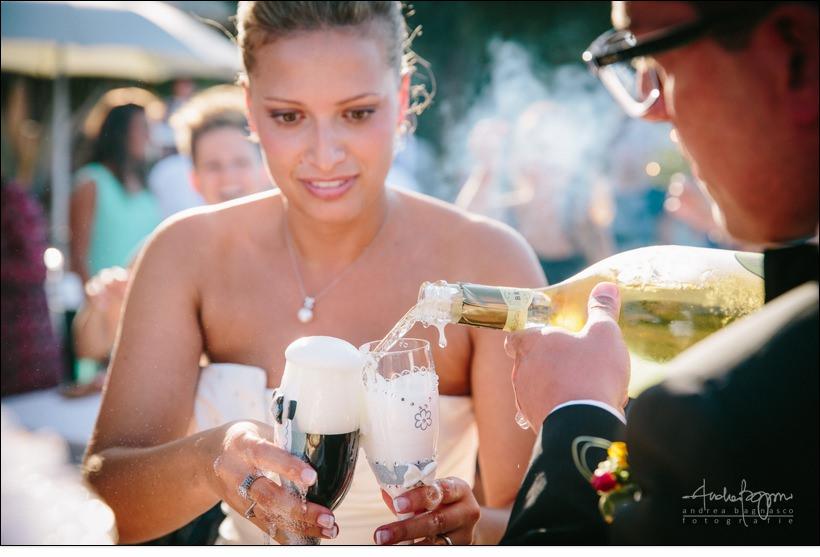 champagne matrimonio paradiso manu noi