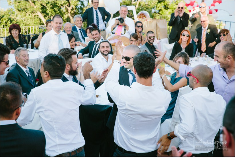 festa matrimonio paradiso manu noi