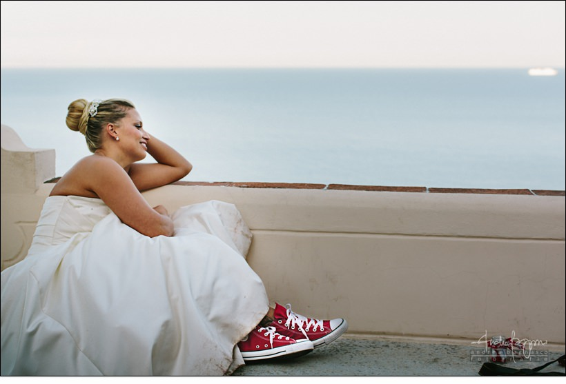 converse all star rosse wedding sposa