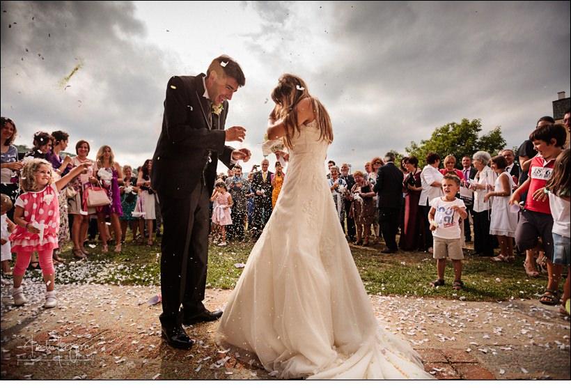 uscita sposi matrimonio millesimo