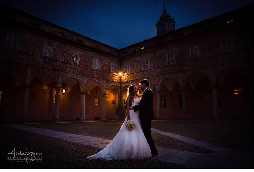 ritratto sposi castello vicoforte matrimonio