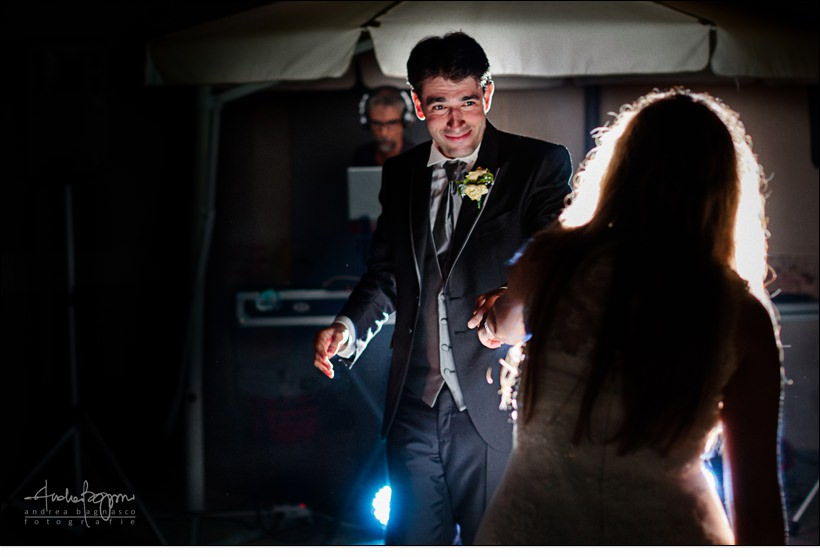 primo ballo sposi matrimonio castello vicoforte