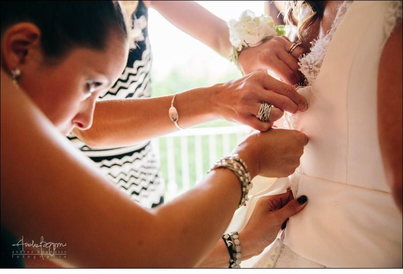 dettaglio abito spose carol matrimonio berta dimore monferrato