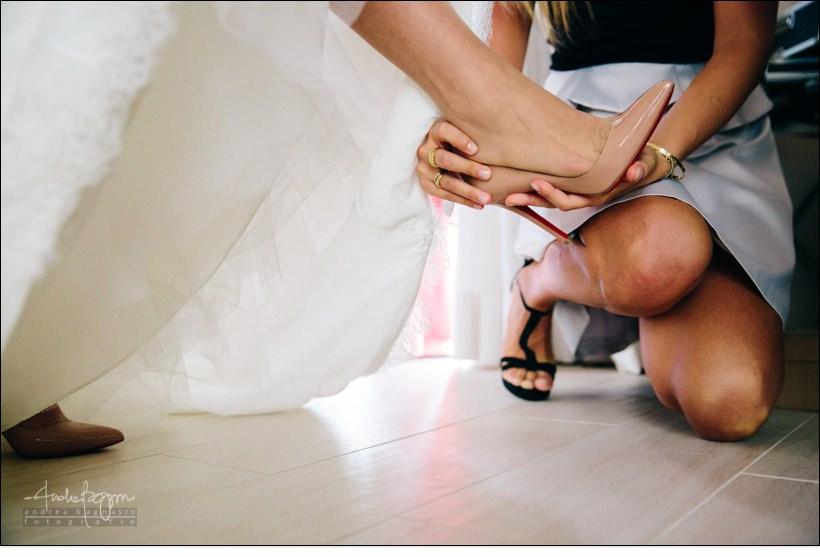 scarpe louboutin matrimonio berta dimore monferrato