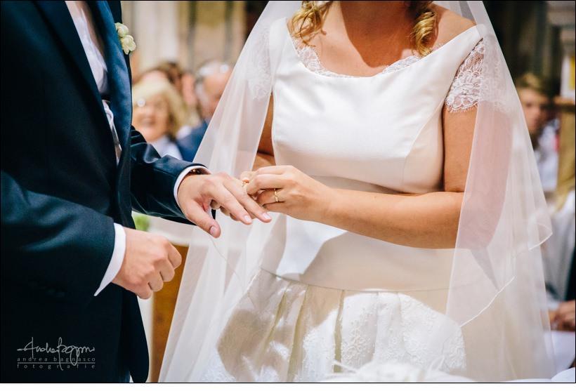 rings exchange wedding monferrato italy