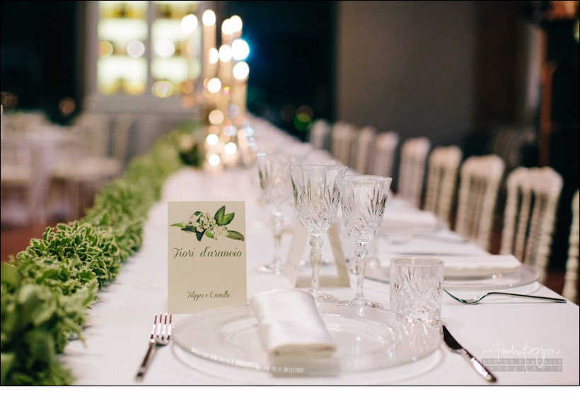 mise en place italy elegant wedding monferrato matrimonio elegante