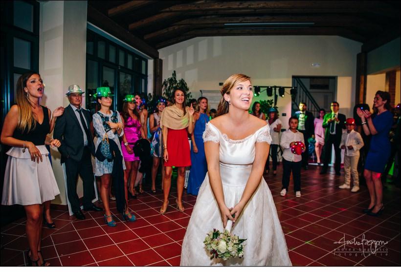 lancio bouquet matrimonio berta monferrato
