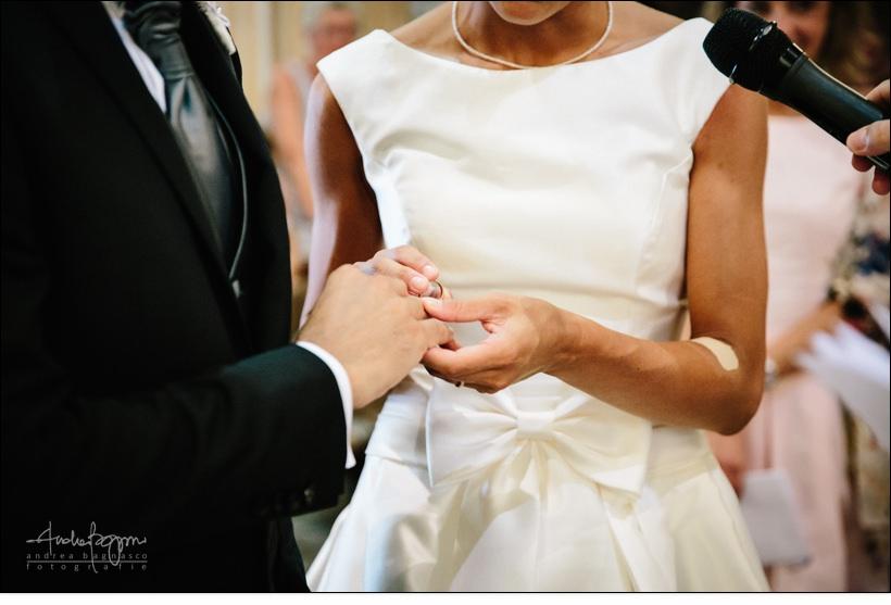 scambio anelli matrimonio celle ligure san michele