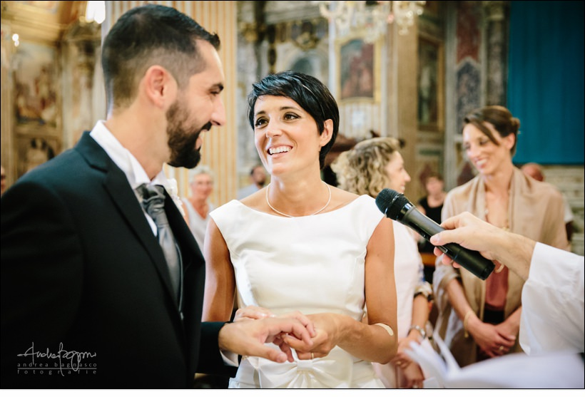 scambio fedi matrimonio celle ligure san michele