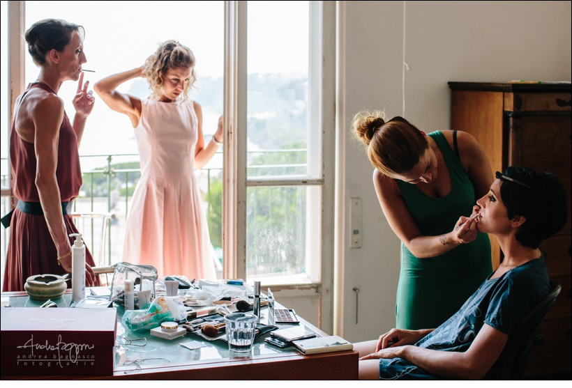 make up reportage matrimonio savona