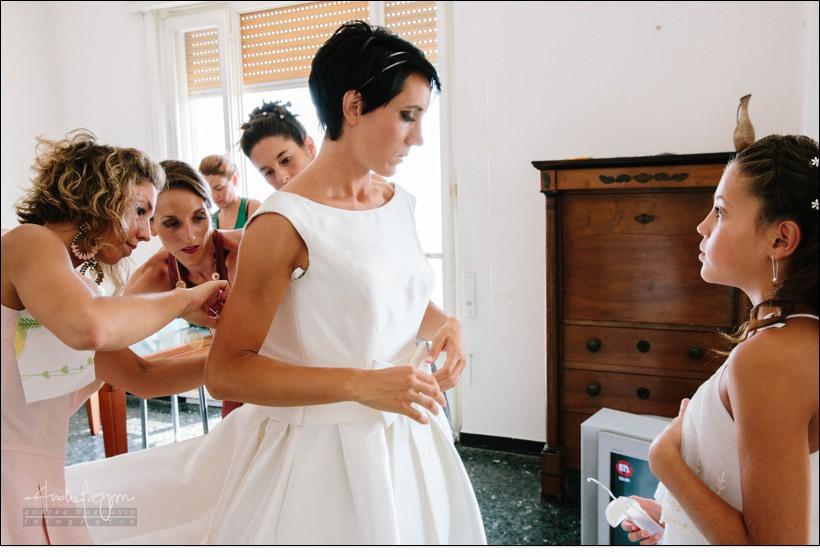 abito sposa reportage matrimonio savona