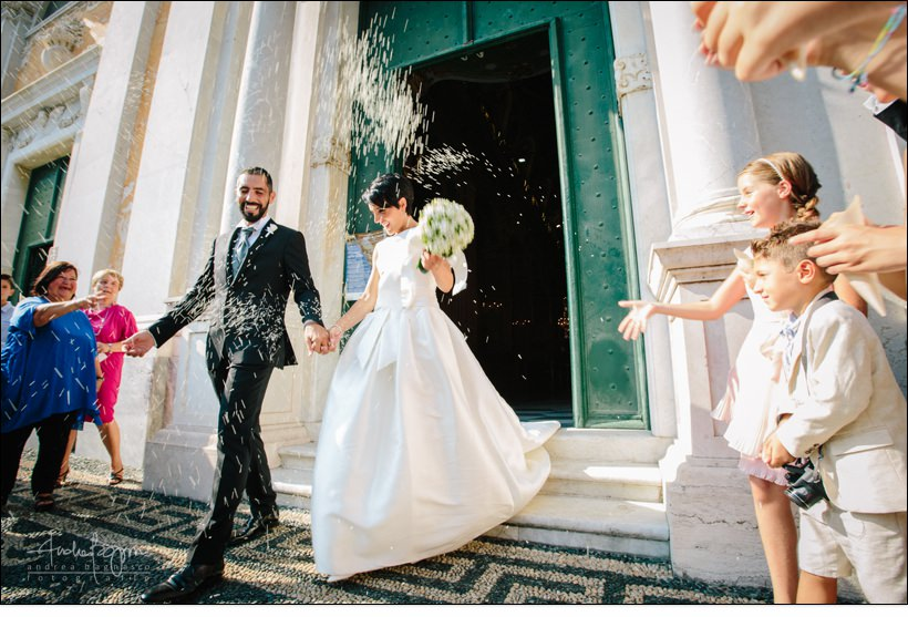 uscita sposi matrimonio celle ligure san michele