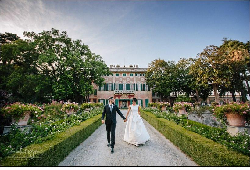 matrimonio in villa faraggiana