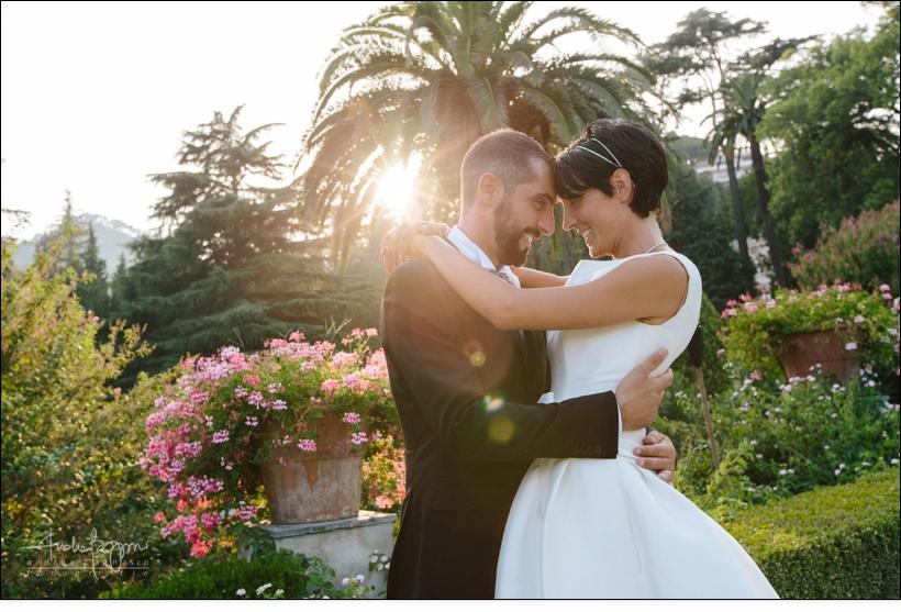 sposi parco villa faraggiana albissola