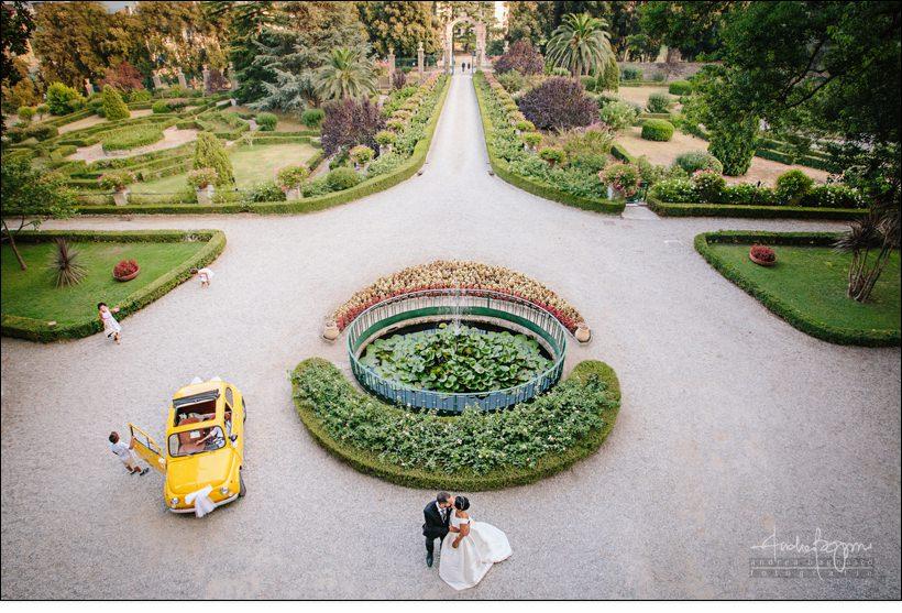 giardini matrimonio villa faraggiana albissola