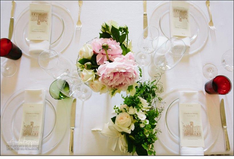 fiori matrimonio real collegio wedding torino
