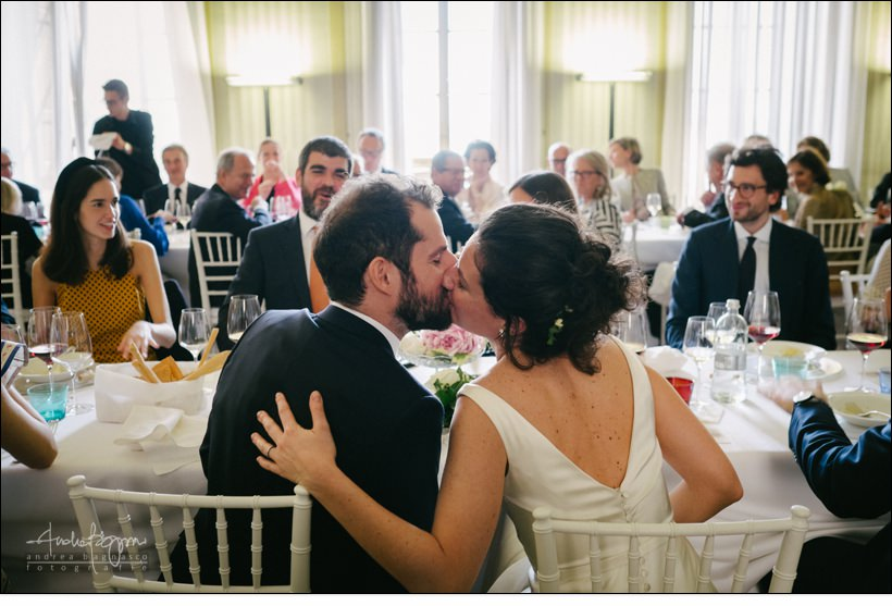 bacio kiss matrimonio real collegio wedding torino