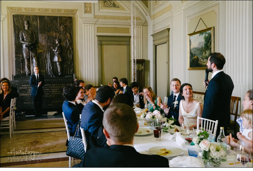 groom speech matrimonio real collegio wedding torino