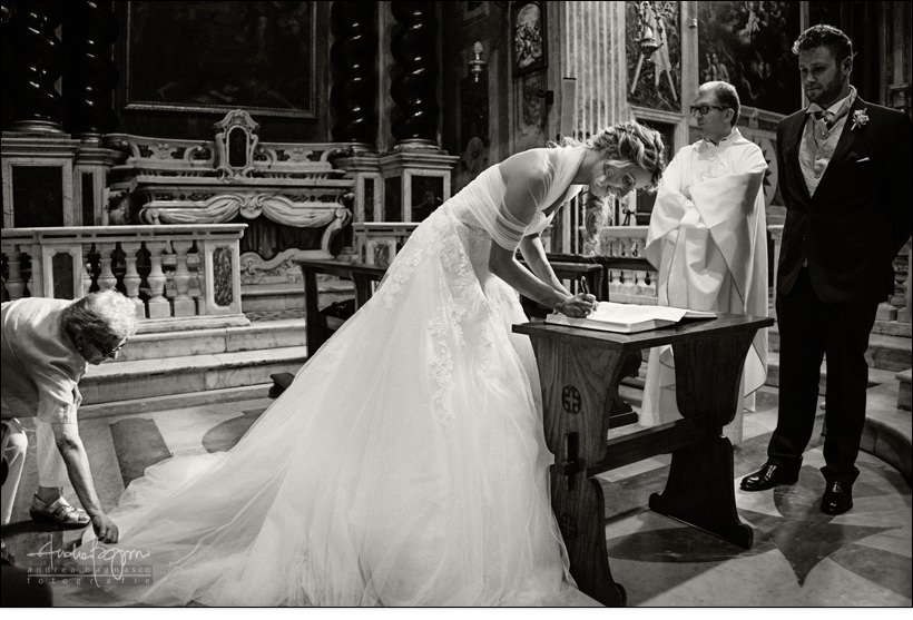 firma registro matrimonio religioso san ambrogio