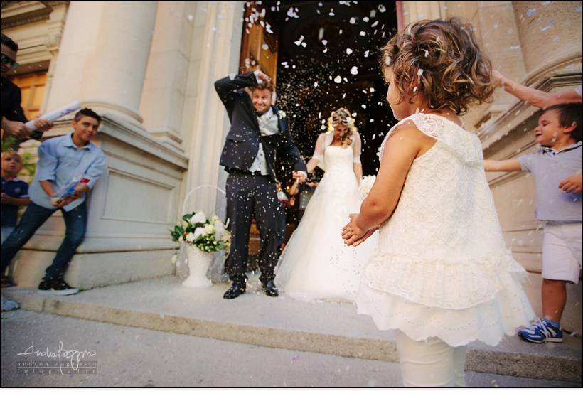 uscita sposi san ambrogio