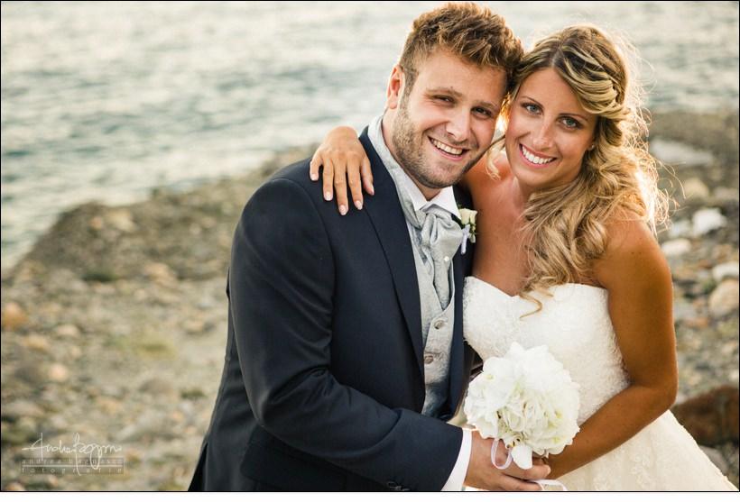 ritratto sposi fotografo matrimonio noli