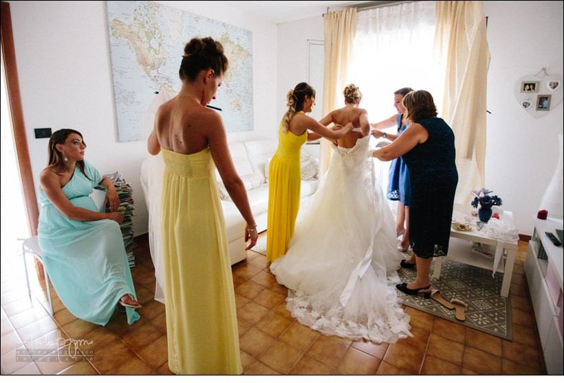 preparazione sposa matrimonio country chic la ginestra