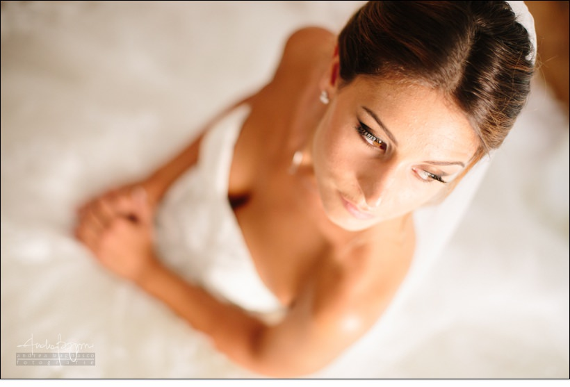 ritratto sposa bride matrimonio country chic la ginestra