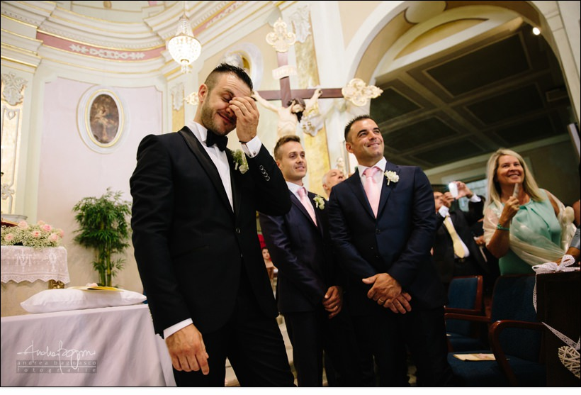 emozioni chiesa matrimonio country chic la ginestra