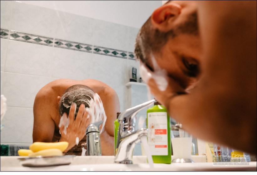 shampoo sposo matrimonio country chic la ginestra