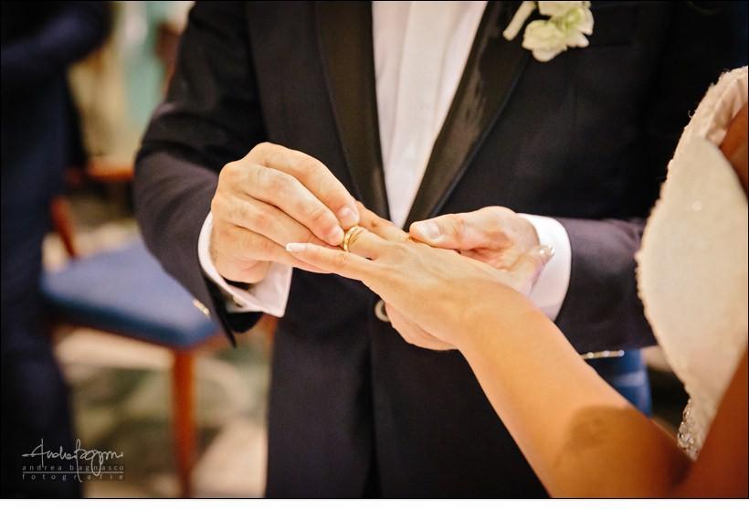 scambio anelli matrimonio country chic la ginestra
