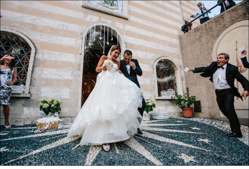uscita sposi matrimonio genova