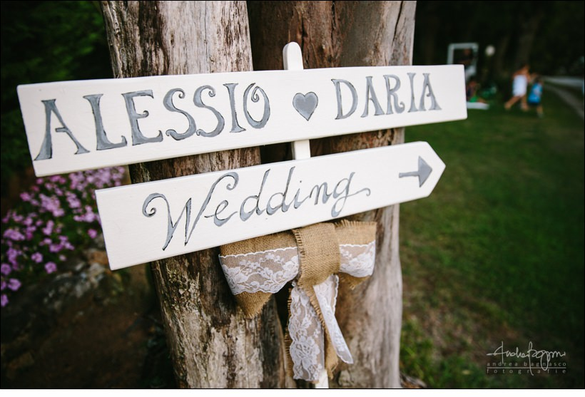 dettagli wedding italy country chic