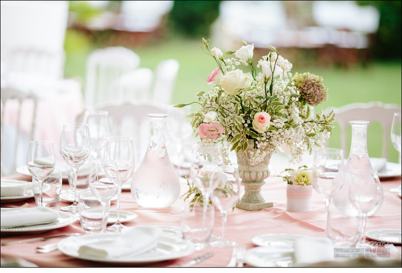 mise en place country chic matrimonio la ginestra