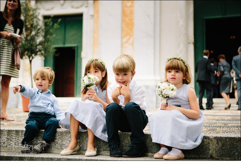 flower girls wedding ceremony