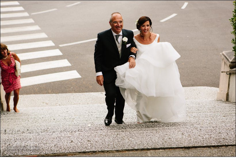 arrivo sposa matrimonio celle ligure